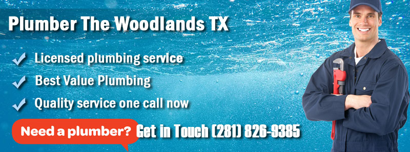 Plumber The Woodlands TX Banner